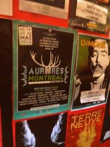 Affiche du Festival Aurores Montréal - 20 mai 2014