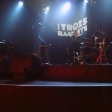 Scène de la salle spectacle parisienne Les Trois Baudets - 20 mai 2014