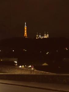 Lyon durant la nuit